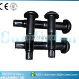 "3/4 X 1 3/4 "" A-325 TEN. CON. C/TCA 2H Y F-436 ASTM F1852 TYPE 1 ROUND HEAD TC BOLT NUT WASHER"