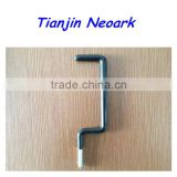 "Ladder Hook,Bike Hook,Tool Hook,Bicycle Hook,Storage Hook,Wall Hook,Steel Screw Hook,PVC Coated 3/8""x7-1/2""x2-1/4"""