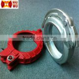 High Quality Pipe Clamp Fittings Forging Concrete Pump Pipe / Rubber Hose Clamp China Supplier