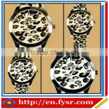 Hot Sale High quality fashion Leopard wrist watch silicone watch