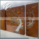 Excellent Metal Corten Steel Tree Wall Art Gallery Decor