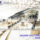 HSS Square Hole Drill Bit for Drilling square holes on wood