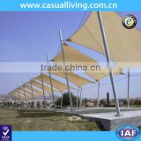 Outdoor Rectangle Sun Shade Sail Canopy for Patio Garden Lawn