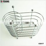43017 chrome finish Utensil Holder Caddy Rack