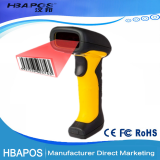 Portable USB 1d ccd handheld supermarket barcode scanner price, waterproof cordless bar code scanner