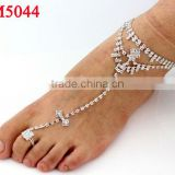 Wholesale handmade belly dance accessories sexy slave anklet foot wears for women