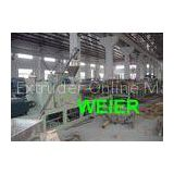 Door Panel WPC Board Production Line / Machinery For Plastic And Wood Composite