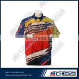 custom motorcycle clothing, Women Wear motorcycle wear racing pit crew shirt wholesale
