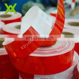 red and white scratch resistant waterproof reflective tape for car
