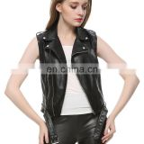leather vest women