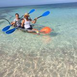 Full transparent kayak, clear kayak, crystal kayak, polycarbonate kayak, clear canoe, transparent canoe, crystal kayak