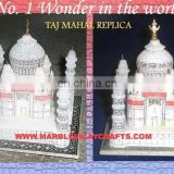 Hand Carved Decorative Taj Mahal Model Showpiece
