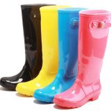 Various Colour Women Rain boots,New fashion Women rain boots,Popular Style Lady PVC boots, Hi-Q rain boots