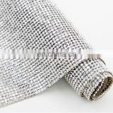 hot fix adhesive glue rhinestone garment accessories crystal diamond mesh hotfix rhinestones sheet wholesale