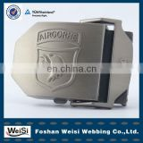 2013 Latest Embossed Fashionable Designer Belt Buckle For Men