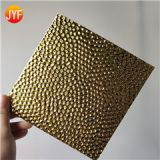JYFQ-003 Chinese factory wholesale products 3D pattern Titanium mirror stamped plate