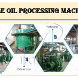 SGS certificate edible oil processing plant for making peanut oil