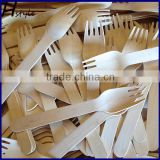 Disposable Wooden Fork/Wooden Cutlery/Wooden Honey Spoon SPT013B                                                                         Quality Choice
