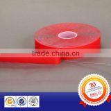 Widely used in automotive and electronics industry 1mm transparent double sided acrylic tape