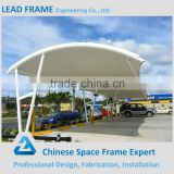 Steel structure large span car parking canopy