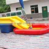 Custom PVC plastic Giant inflatable baby swimming pool
