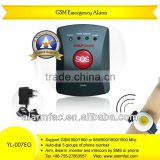 burglar home alarm gsm wireless&emergency alarm elderly lcd display GSM alarm--YL-007EG