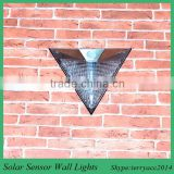 "4 LED ""Waterproof"" Solar Power Motion Sensor Wall Light Outdoor Garden Yard Lamp"