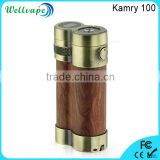 Innovative 100W vaporizer Kamry 100 phimis wood mod