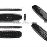 2014 podoor fly Air mouse backlit wireless keyboard
