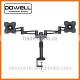 "Four Arms Table LCD Dual Monitor Mount Bracket for 13""-30"" screen"