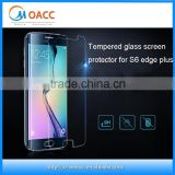 Cell phone screen protector, for samsung s6 edge plus tempered glass screen protector,0.15mm 2.5D 9H glass screen protector