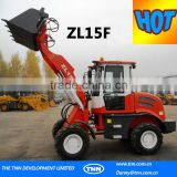 C3-Good hot sell electric front end ROPS tilt cabin design EURO III engine powerful ZL15F wheel loader