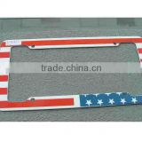 Plastic License Plate Frames to America