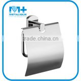 Bath Hardware Set Wall Mounted Brass Chrome Toilet Paper Roll Holder Tissue Napkin Holder Dispenser 50051