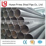 Factory Price ERW Steel Pipe/Tube ERW/SAW Welded Pipes, with Black, Made of Carbon Steel, Vanish and Galvanized Painting