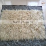 100% Genuine Tibetan Lamb Fur Rugs For Floor Rugs Carpets