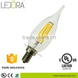 Decorative & Lighting LED super brightness lampen 4W 400lm 120V 2200k 6000k led candle bulb for chandelier shenzhen