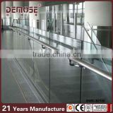 interior glass railing systems/tempered glass railing