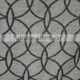 2016 new style polyester jacquard window curtain panel