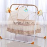 Multi-function baby rocking bed/cirb ,swing cradle with fashion colour design