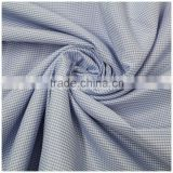 Yarn dyed color ripstop fabric checked polyester 100%ctn yarn dyed stock fabric
