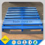 Warehouse racking pallet stackable steel pallets