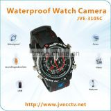JVE-3105C Hottest Waterproof Watch Camera , hd 1280*960/30fps webcam usb drive wired manual camera watch