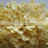 dehydrated garlic flakes White dried garlic flakes without root