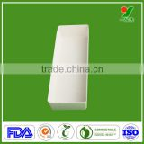 New Products Biodegradable Disposable Bagasse Pulp Tea Infuser Water Bottle Packaging with Pulp Mold