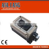 <Taiwan made> 250V/500V ON/OFF electrical 2P/3P push button switch