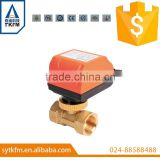 SR205 mini electric motorized brass ball valve / electric motor ball valve                                                                         Quality Choice