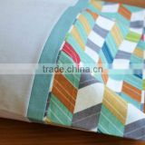 Custom Made Patterns Natural Organic Cotton Protective Sleeping Newborn Baby Pillow Case Cover