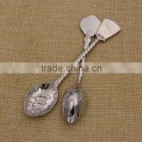 Hot sale silver tea spoon/soup coffee spoon/ ice cream spoons for promotion gifts                                                                                                         Supplier's Choice
