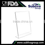 Wholesale Transparent Acrylic Menu Card Holder                                                                         Quality Choice